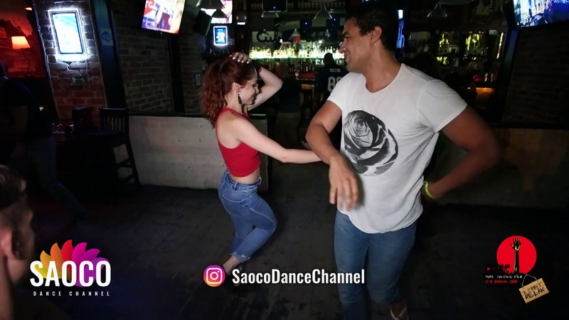 Walid Belkabir and Svetlana Levchenko Salsa Dancing in Saray at After Party The Third Front 06.08.18