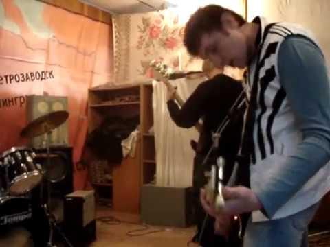 Домашнее видео представляет: гр. Проба (репетиция) Начало 2006 год. Вступление и Крыля