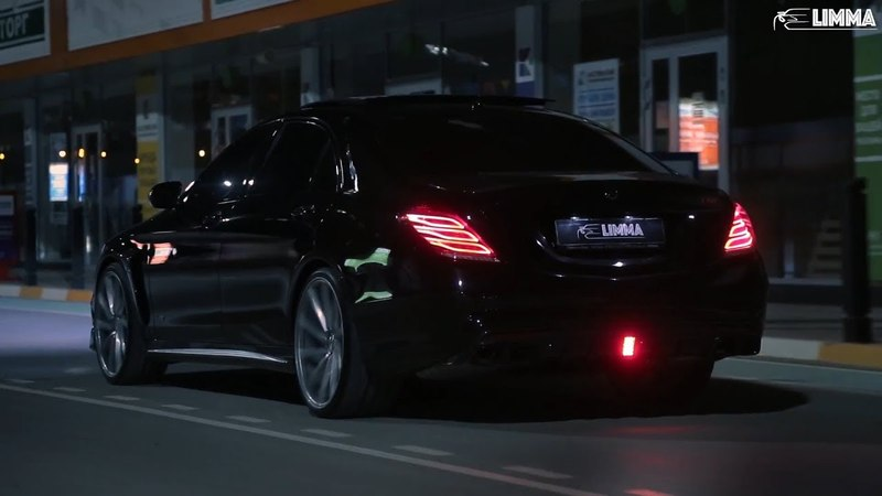 Night Lovell Trees Of The Valley W222 S63 Brabus LIMMA