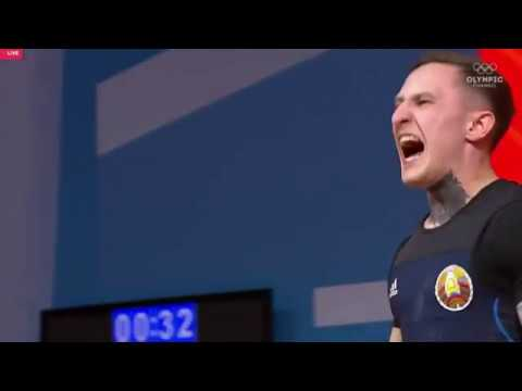 Геннадий Лаптев (BLR) - Men 61kg, IWF World Championships, Ashgabat 2018