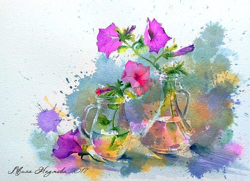 Летняя цветотерапия
