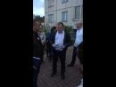 Шама 1в. Собрание возмущенных жильцов с управляющей компанией Универсальные Решения