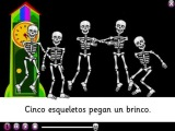 Los esqueletos - смешная песенка про скелетов на испанском