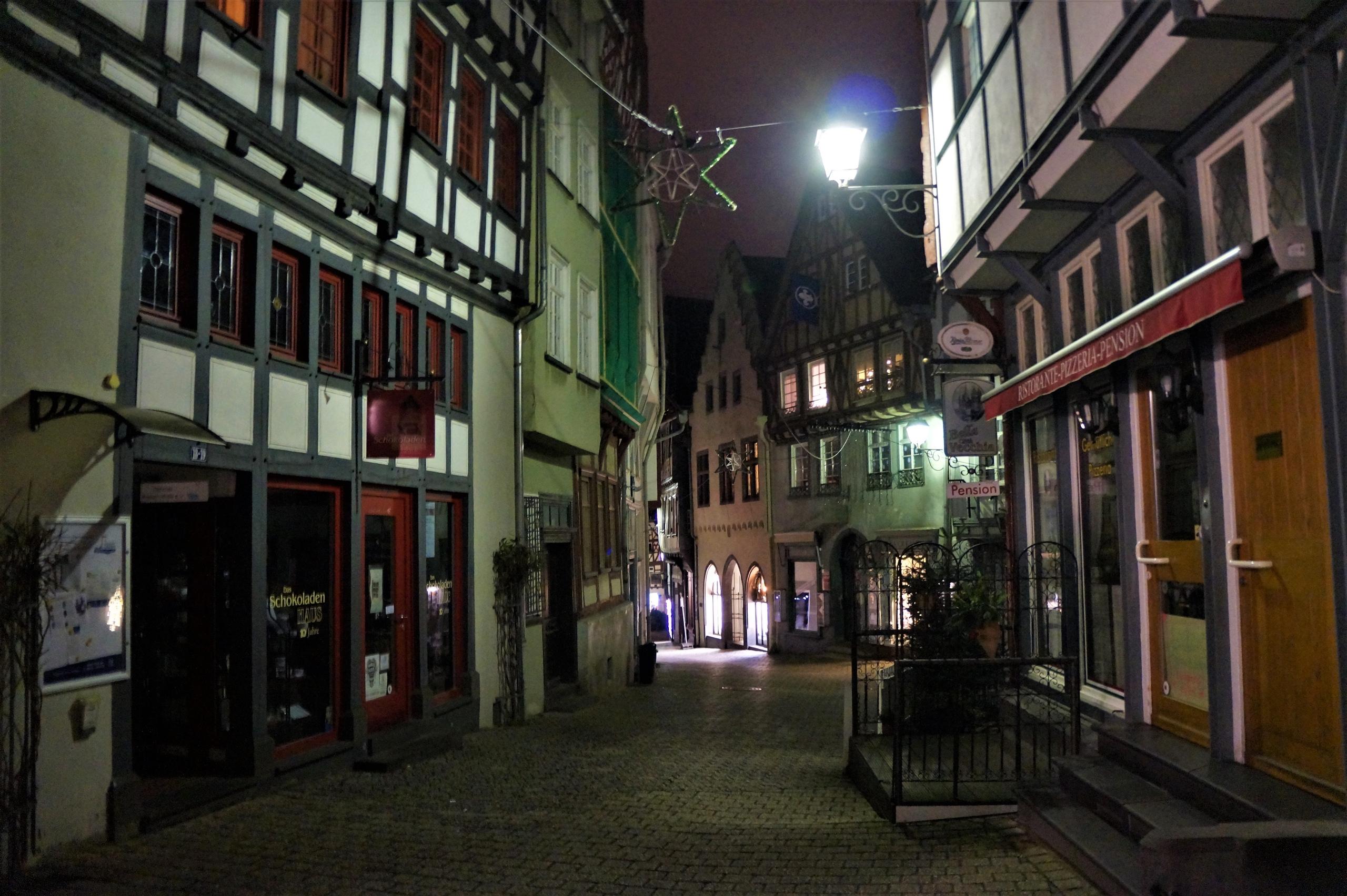 Ночная прогулка по Лимбургу в ночь перед Рождеством