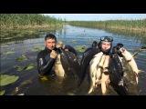 Как мы охотились в Астрахани, подводная охота, Spearfishing Astrakhan