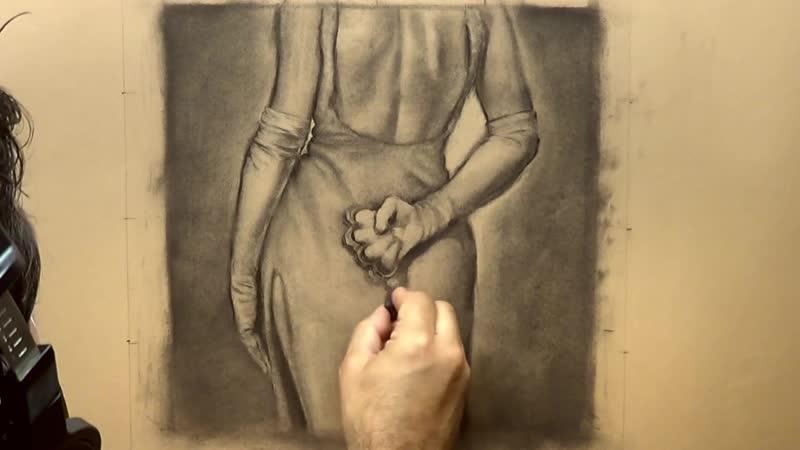 Рисование эскиза картины с Дэнни Гальеотом