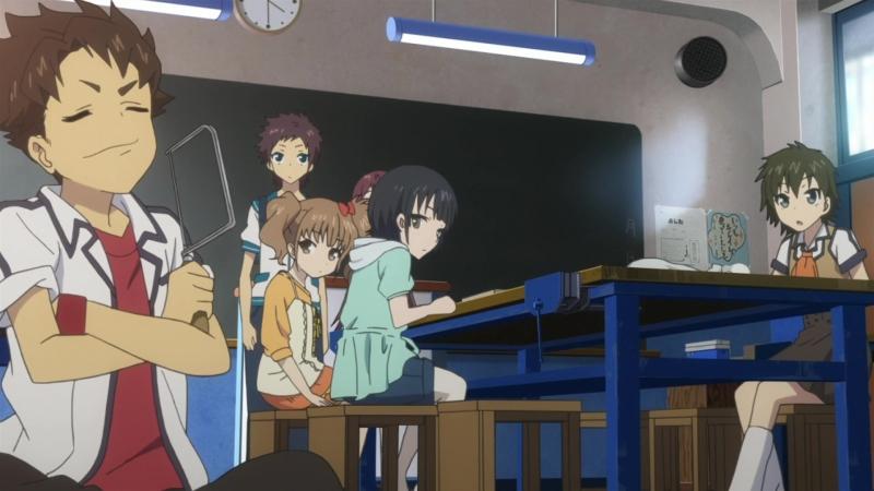 AniPlague Безоблачное завтра Nagi no Asukara серия 06