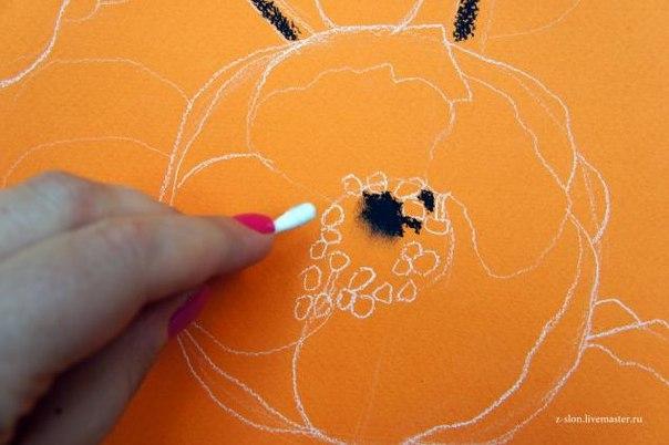 Рисуем пастелью