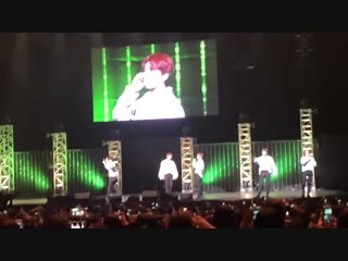 Infinite all over the place hahaha cant see their faces on this vid their everywhere hahahaha - - During photo time_