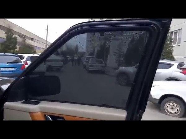 Автошторки на Range Rover Sport установка
