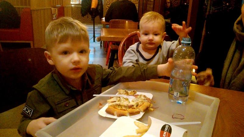 Как мы ходим в пиццерию