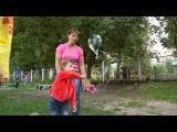 Детский день рождения, шоу мыльных пузырей для Ульяны и ее друзей