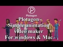 How to download plotagon | Simple animation video maker |