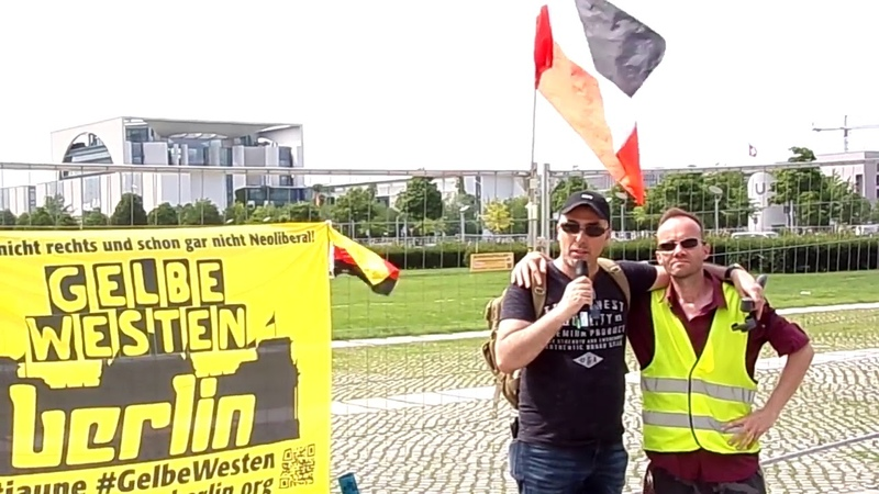 Patriot Erik Graziany zum misslungenen Zusammenschluß der Gelbwesten mit den Bikern in Deutschland