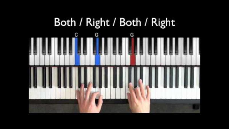 Easy Blues Piano Lessons - Bluesy 4ths Riff (Part 2) » Freewka.com - Смотреть онлайн в хорощем качестве