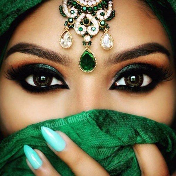 Арабский макияж VK
