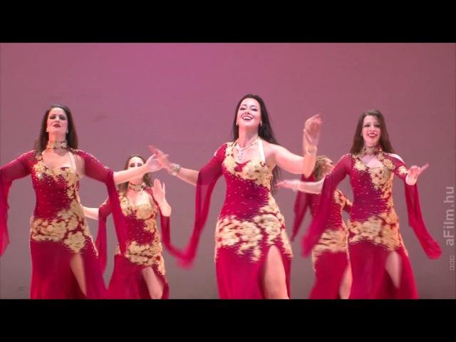 Mercedes Nieto Nymph Oriental Dance Company: Oriental Dance to an Oum Kalthoum song