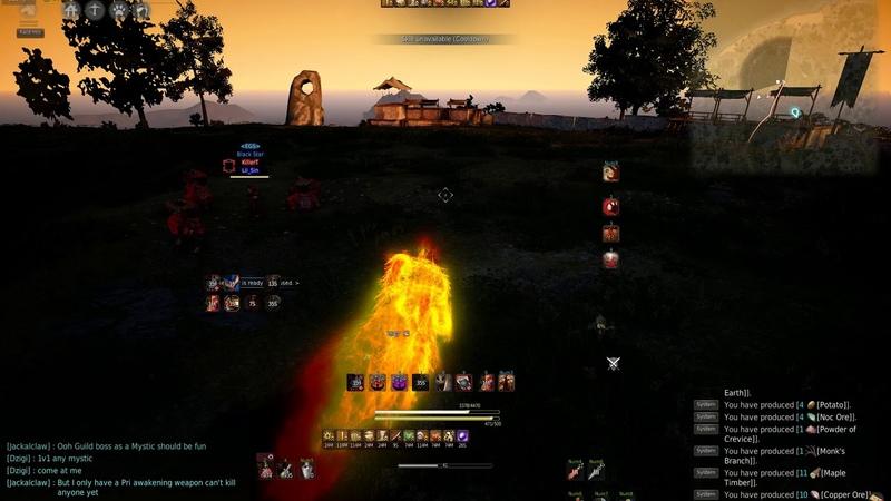 Black Desert Zerk vs Striker [fuck accuracy]