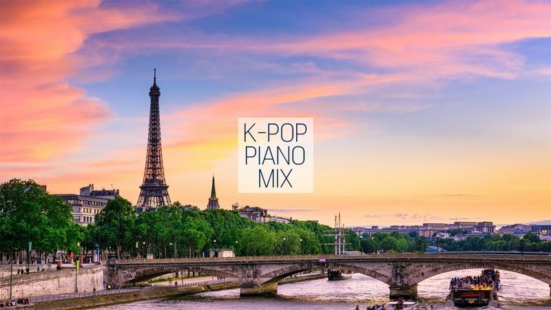 한국 가요 피아노 모음 1시간 연속 재생 K-POP Piano 1Hour Mix | 월간 신기원 8월 | 신기원 피아노