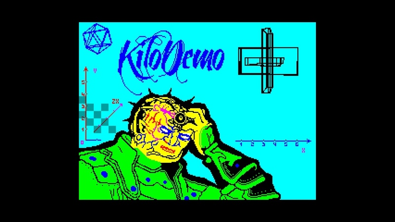 4D KiloDemo - AAABand Group [HDTV][zx spectrum AY Music Demo]