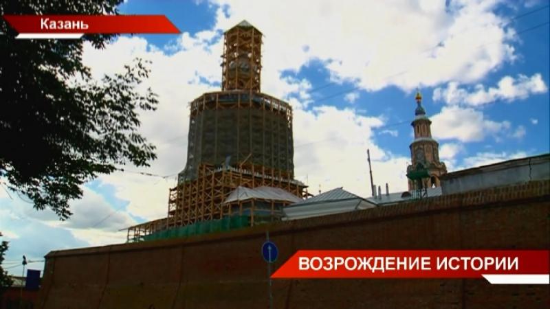 Петропавловский собор Казани на ближайшие три года покрыт строительными лесами - ТНВ