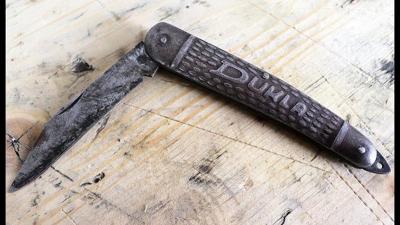 Restoration of the Rusty odd looking pocket knife