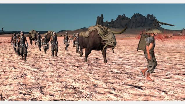 Faction Caravans / Караваны фракций