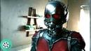 Скотт Лэнг примеряет костюм Сцена в ванной. Человек-муравей 2015 год.