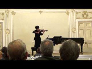 Donghyun Kim - I премия и звание Лауреата II Международного конкурса скрипачей и квартетов им. Л.Ауэра