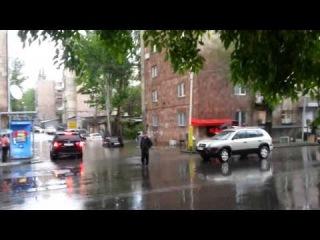 Ջրհեղեղ Երևանում 19.05.2013 (Վ.Վաղարշյան-Գ.Արծրունի