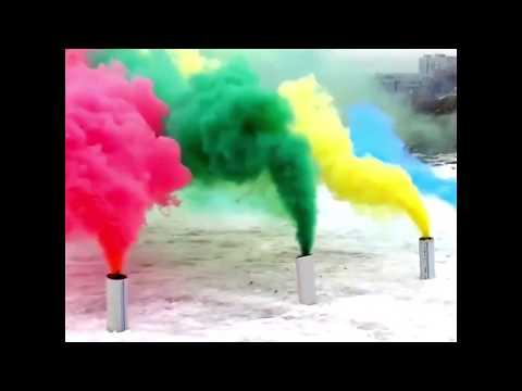 Cara cara membuat bom asap menggunakan crayon warna