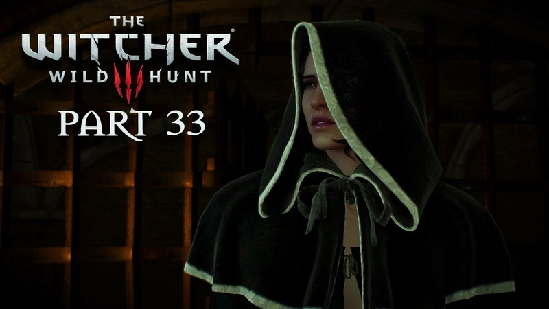 The Witcher 3 Wild Hunt Walkthrough Gameplay Part 33 - The Great Escape (PS4)