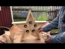 Сканди-светильник Звезда от Right-Hander's Workroom
