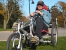 Modular recumbent trike. Driving._HIGH.mp4