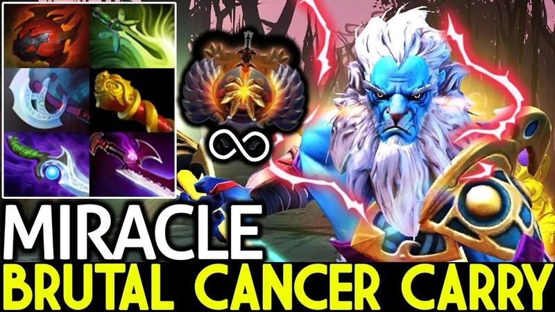 Miracle- [Phantom Lancer] Brutal Cancer Carry 7.19 Dota 2