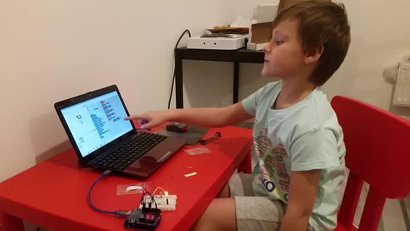 Я сделал гирлянду на Arduino и запрограммировал ее!