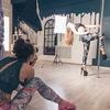 Фотосессия для девушек на пилоне / спортивная