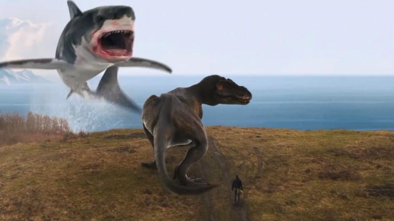 Последний акулий торнадо: Как раз во время (2018) русский трейлер HD | The Last Sharknado: It's About Time | Йен Зиринг