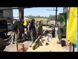 Луганск  05.06.2014: Батальон АЙДАР готовится к бою.