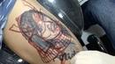 Tattoo Of Girlfriend Becomes Samurai
