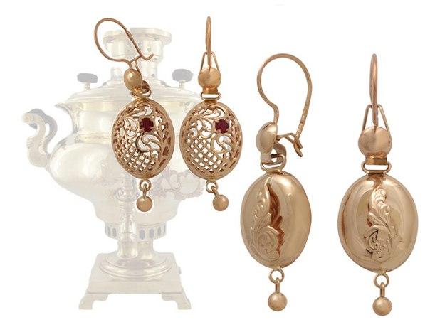 28dbda921aeb57 Золотые серьги с янтарем купить