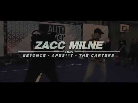 ZACC MILNE | QUALITY SUMMER INTENSIVE 2018 | APES**T The Carters