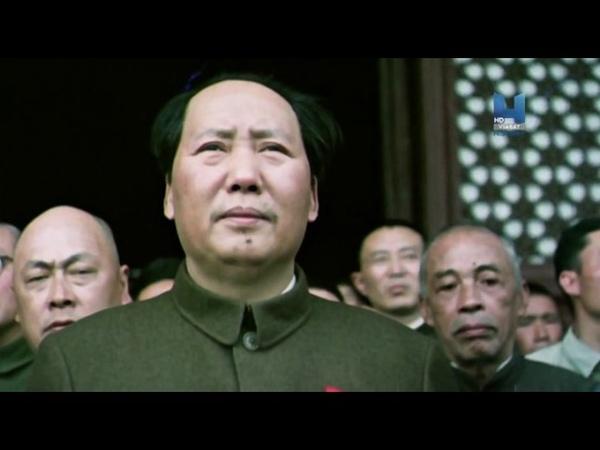 правление мао цзэдуна в Китае -цветная кинохроника