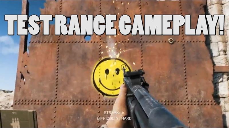 Test range gameplay battlefield 5