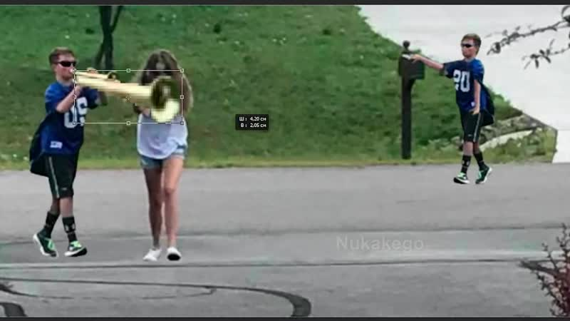 Trumpet boy playing when mom isnt home