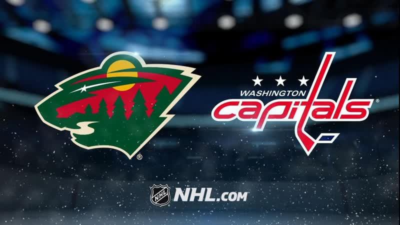 Матч на русском Minnesota Wild vs Washington Capitals 23 Марта 2019