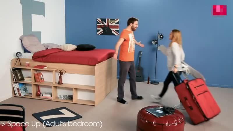 Кровать кладовка
