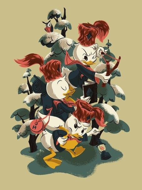 duck tales утиные истории: