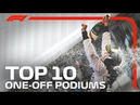 Top 10 One Off Podiums