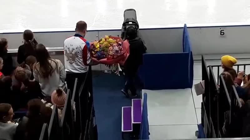 Станислава Константинова и ее поклонник